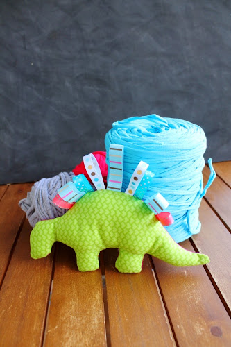 Not 2 late to craft: Dinosaure de patchwork / Patchwork dinosaur