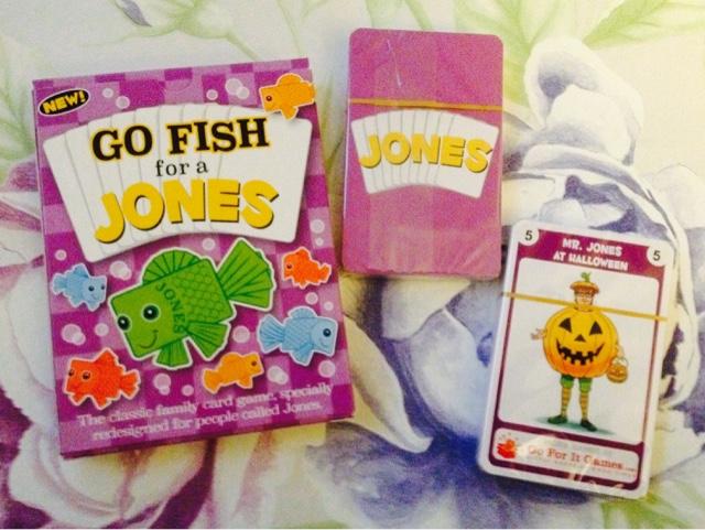 Jones Happy Families game review
