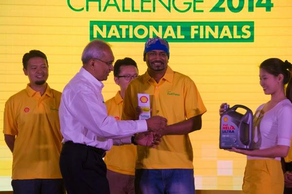 Gunasegaran Alageri pemenang tempat keempat