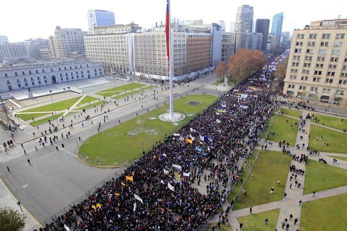 30 junio Santiago Marcha de los 200.000