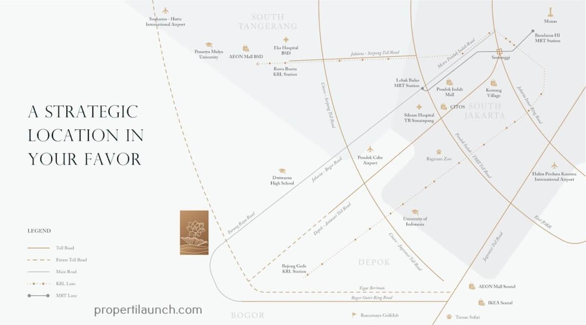 Peta Lokasi Telaga Kahuripan