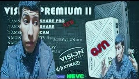 تحديث جهاز Vision Premium 2 💥مع ملف قنوات + تفعيل 03/04/2020🔥NASHARE PRO🔥IP AUDIO AUTO