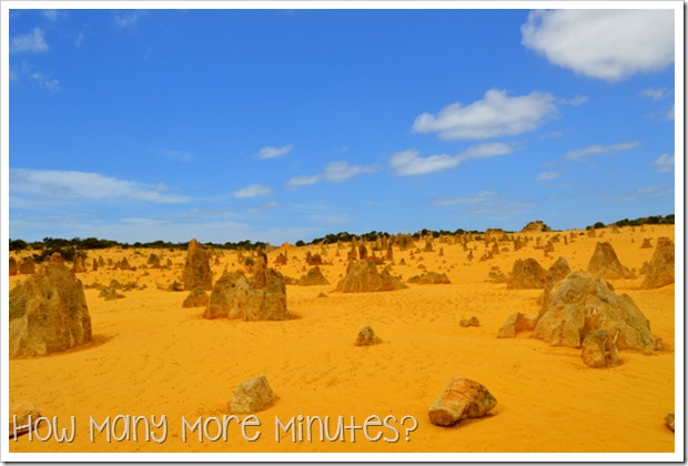 The Pinnacles: Nambug National Park | How Many More Minutes?