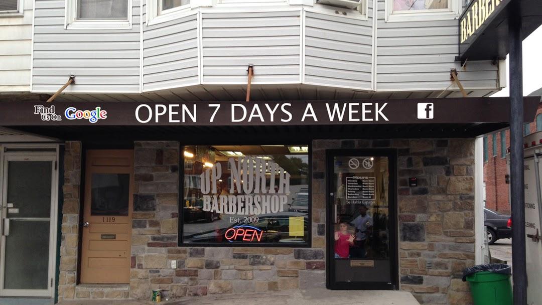 Up North Barbershop Barber Shop In York