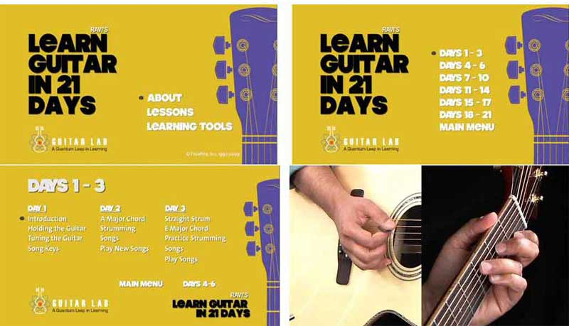 Ravi's Learn Guitar in 21 Days