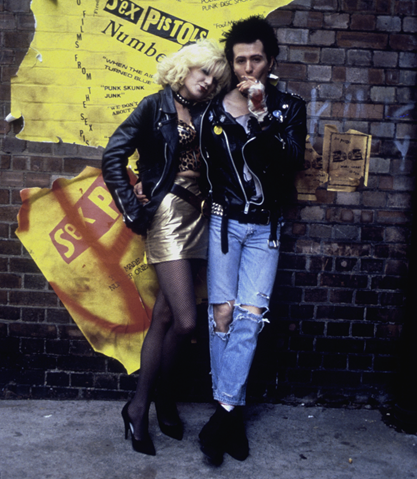 Chloe Webb is Nancy Spungen and Gary Oldman is Sid Vicious in Sid & Nancy