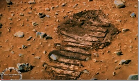 Footprint Found On Mars Matches Astronauts