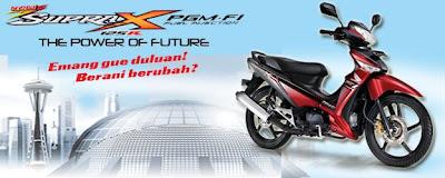 Honda Supra x 125 PGM-FI Sepeda Motor Injeksi Irit