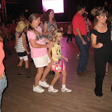 Lori and Hannah line dancing in the Wildhorse Saloon in Nashville TN 09032011d