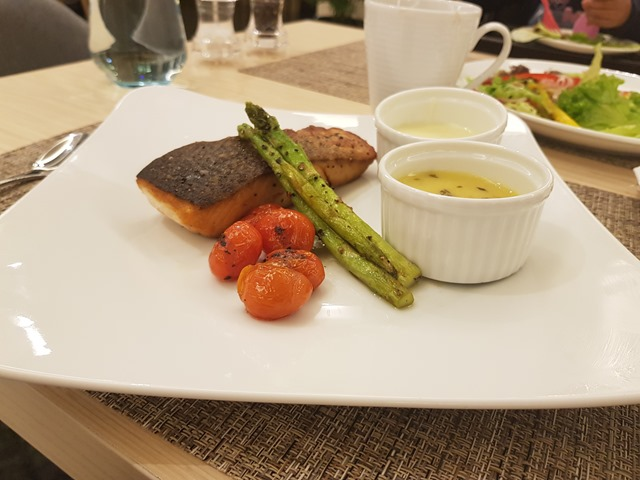 Hilton Garden Inn Puchong Pan Fried Salmon