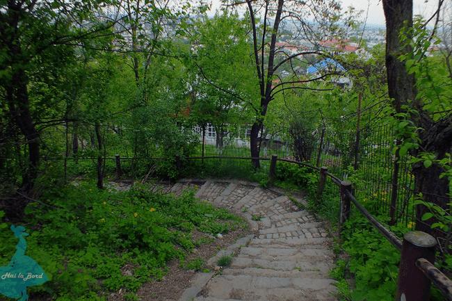 scara manastirea galata iasi