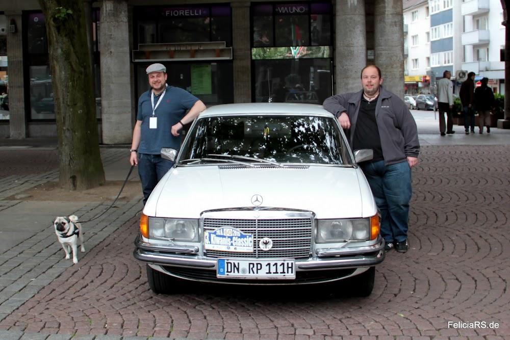 Startnummer 60 Mercedes Benz 450 SE 1977