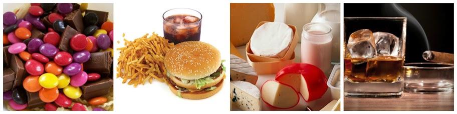 Pantangan Makanan Untuk Kulit Berjerawat