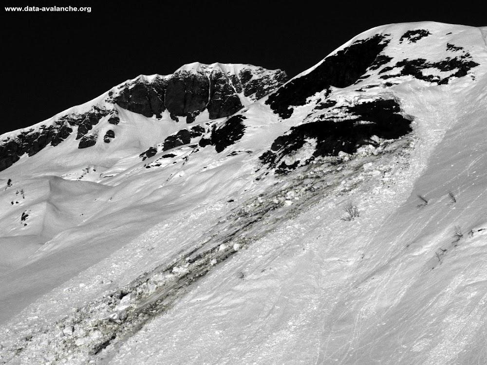 Avalanche Haut Giffre, secteur Tête de Moëde, Les Fonds de Moëde - Photo 1