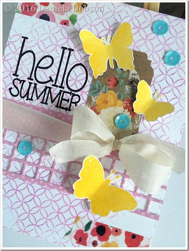 Hello summer close by Daniela Dobson