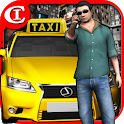 Extreme Taxi Crazy Driving Simulator Parking Games icon