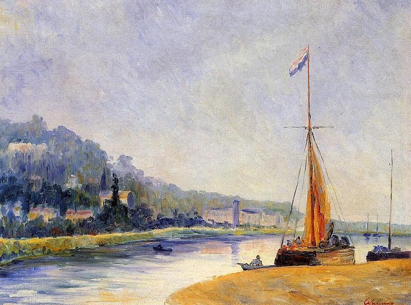 Albert Lebourg - Banks of the River
