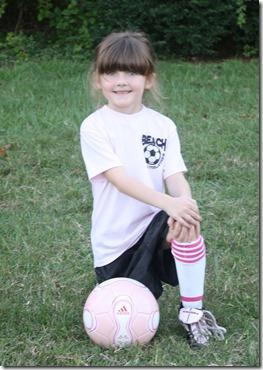Haylee's Soccer Photo 2010