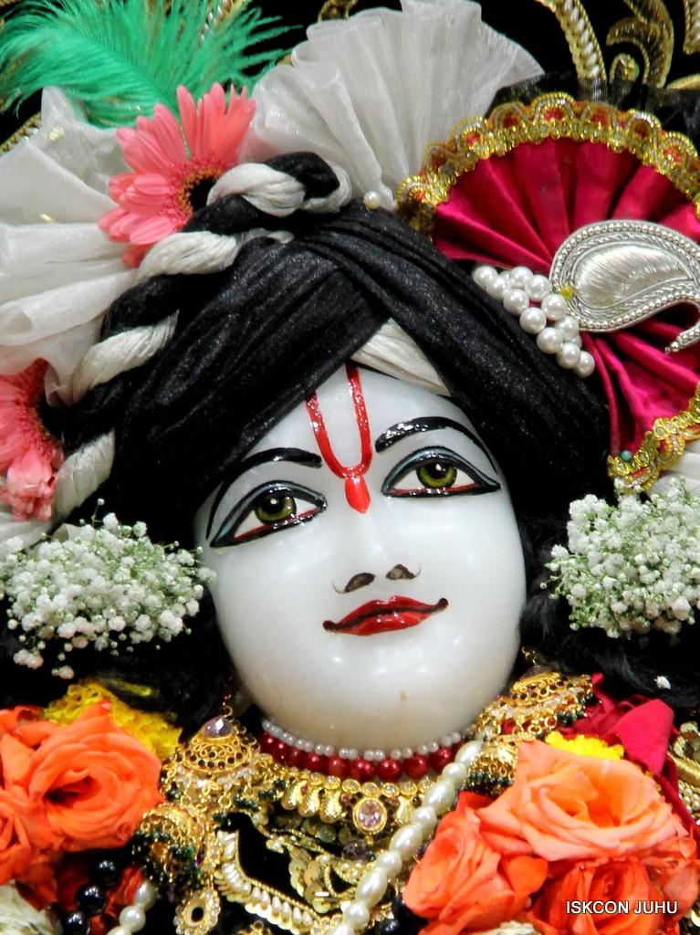 ISKCON Juhu Sringar Deity Darshan 7 Jan 2017  (45)