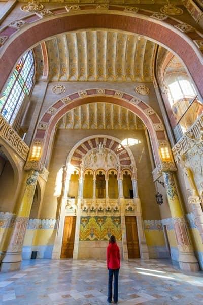 Recinte Modernista de Sant Pau Barcelona