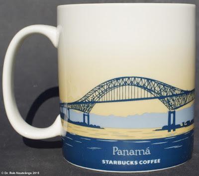 Panama Starbucks City Mugs