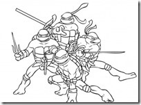 tortugas ninja colorear (7)