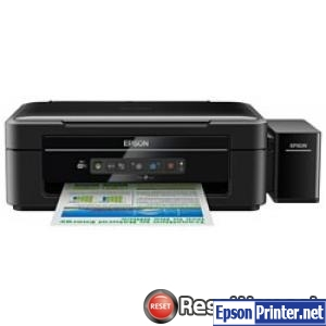 How to reset Epson L366 printer