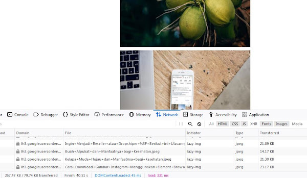 Cara Membuat Javascript Load Image Setelah Halaman di Scroll
