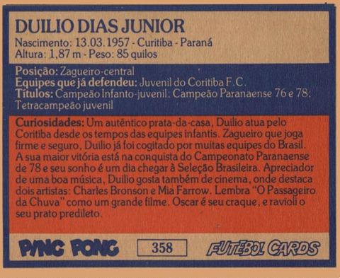 CFC (358) Duilio ZGC