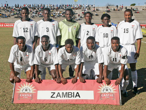 COSAFA CUP PREVIEW PICS - BOTSWANA VS ZAMBIA 19TH AUGUST (ZAMBIA)Zambia team pictures23 July 2006,Zambia v Seychelles,Cosafa Cup 2006,Sam Nujoma Stadium,Windhoek,Namibia,Credit:Abbey Sebetha/backpagepix