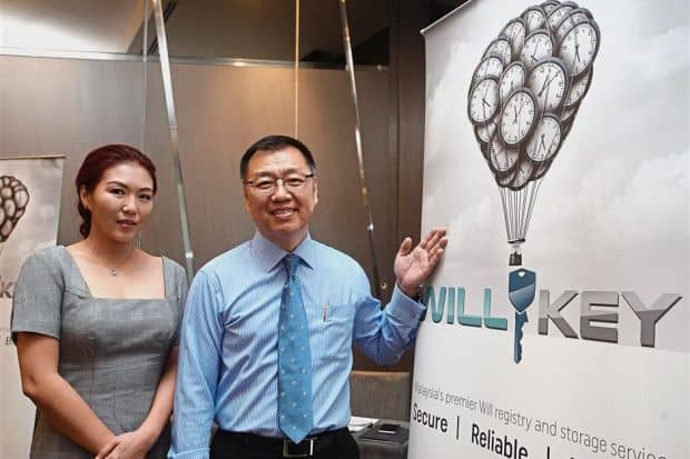 WILLKEY MALAYSIA'S FIRST WILL REGISTRY CENTRALISES WILL SEARCH AND STORAGE TO PROVIDE PEACE OF MIND