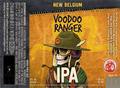 Image result for voodoo ranger ipa