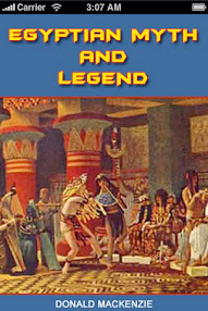 Cover of Donald Mackenzie's Book Egyptian Myth And Legend