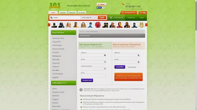 Magazin online de jucarii si accesorii cu personajele preferate ale copiilor - 101jucarii.ro - Google Chrome 29092014 132632