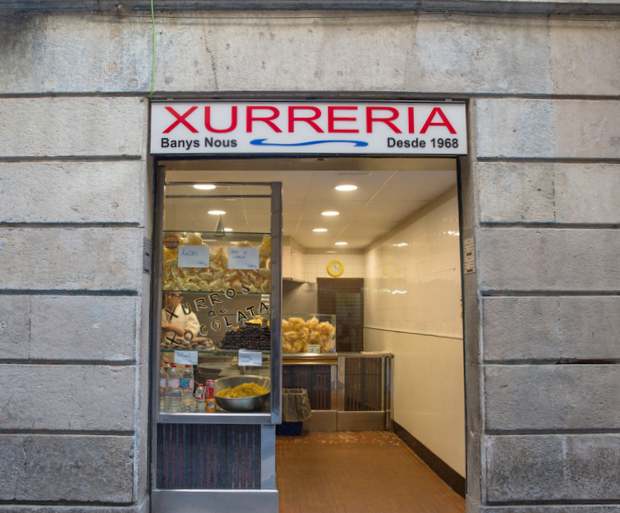 photo of the outside of Xurreria Banys Nous
