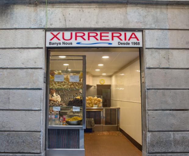 Xurreria Banys Nous (Barcelona)