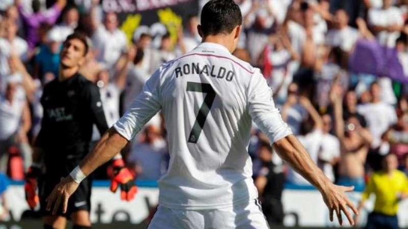 gambar selebrasi gol Cristiano Ronaldo paling unik, fenomenal, keren, terbaru, terbaik sepanjang masa