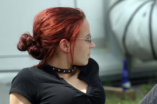 Redhead Gothic Girl, Gothic Girls
