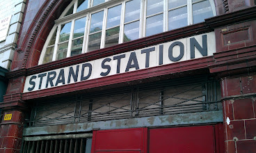 Photo: The original name for the station