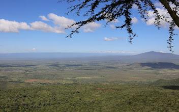 Photo: Näkymä Itä-Afrikan hautavajoamalle