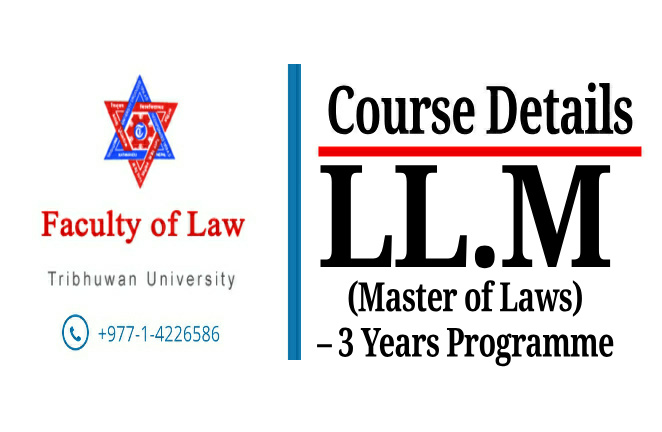 Course Details : LL.M (Master of Laws) – 3 Years