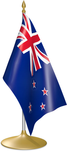 New Zealand table flags - desk flags