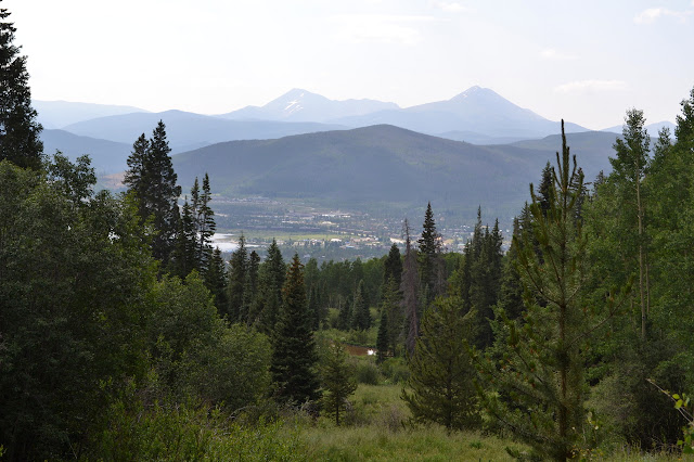 Frisco and the Dillon Reservoir