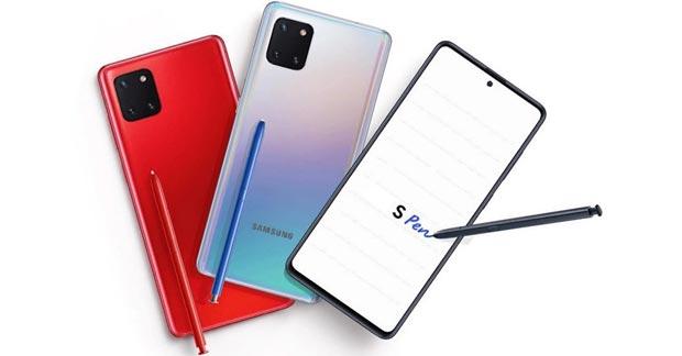 Samsung Galaxy Note 10 Lite Warna
