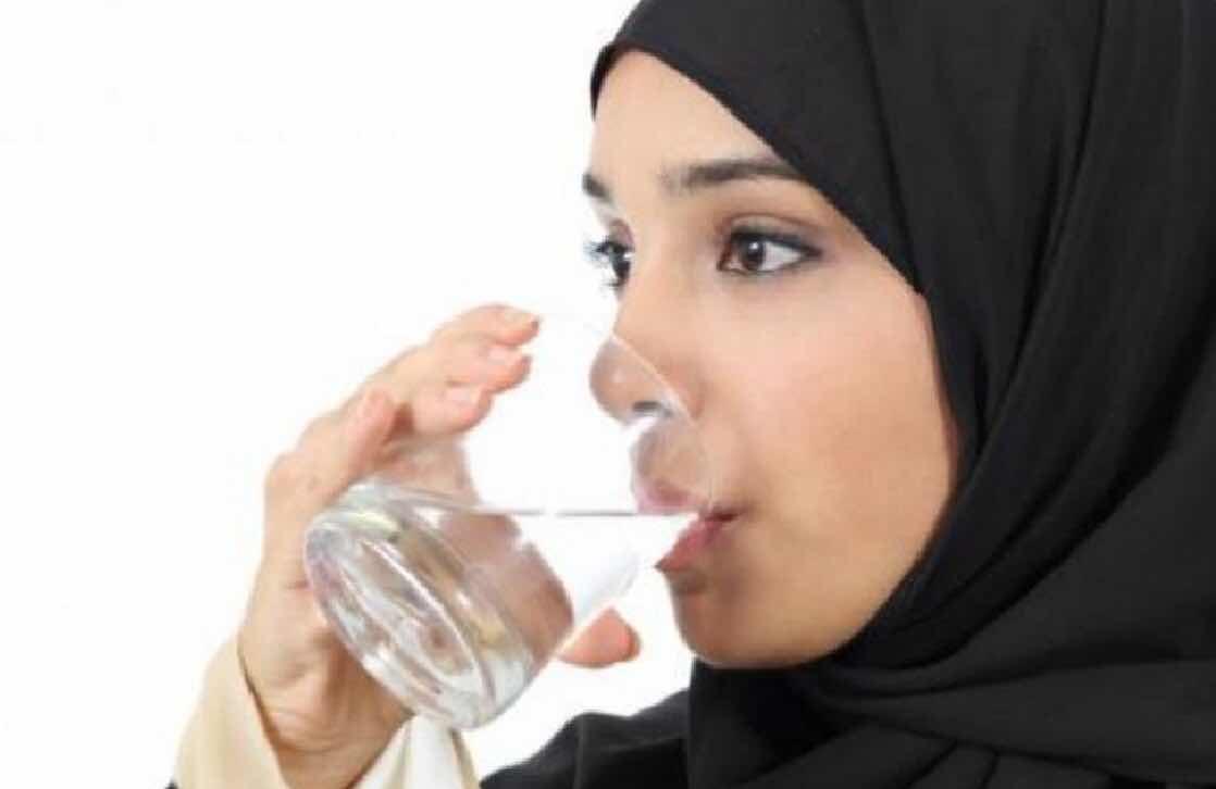 Sunnah ketika minum air