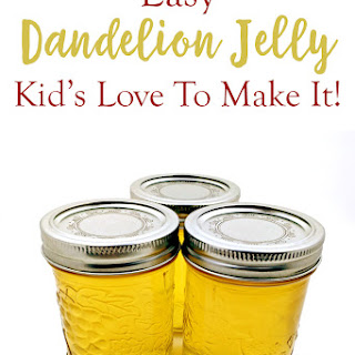 How To Make Dandelion Jelly.