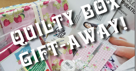 It?s September Quilty Box Drawing Time!
