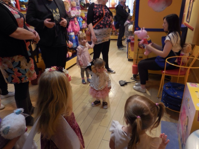 Build-a-Bear Workshop party stuffing