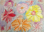 Water Color Flowers by Callie