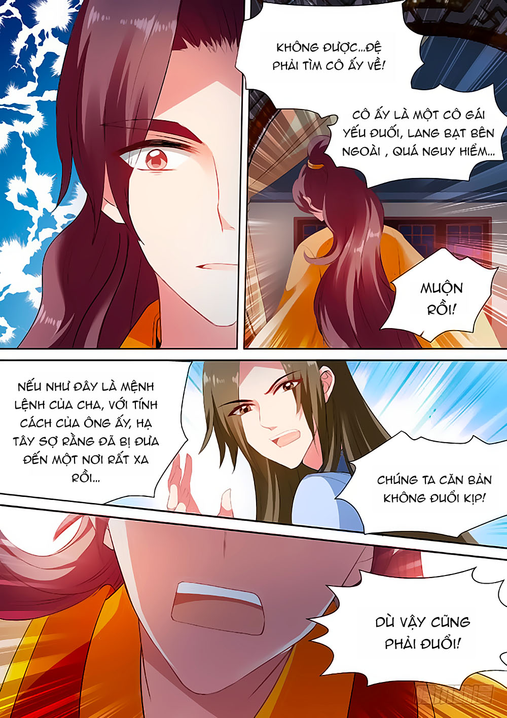 Hệ Thống Chế Tạo Nữ Thần chap 83 - Trang 2